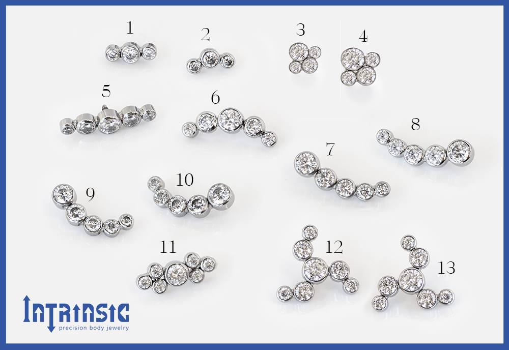Intrinsic Body Gem Cluster Collections